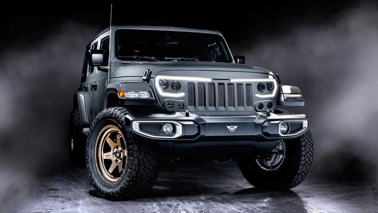 Jeep Wrangler Oracle Vector Grille