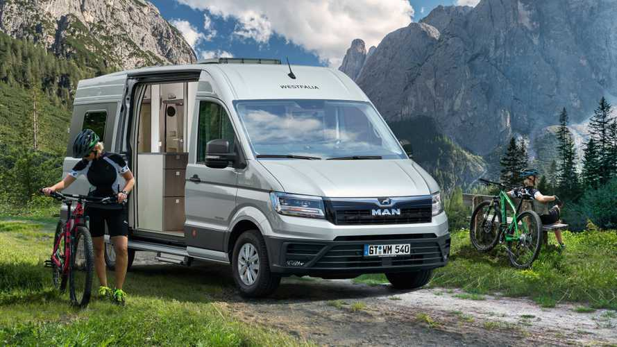 Westfalia Sven Hedin (2019): Campingversion des MAN TGE