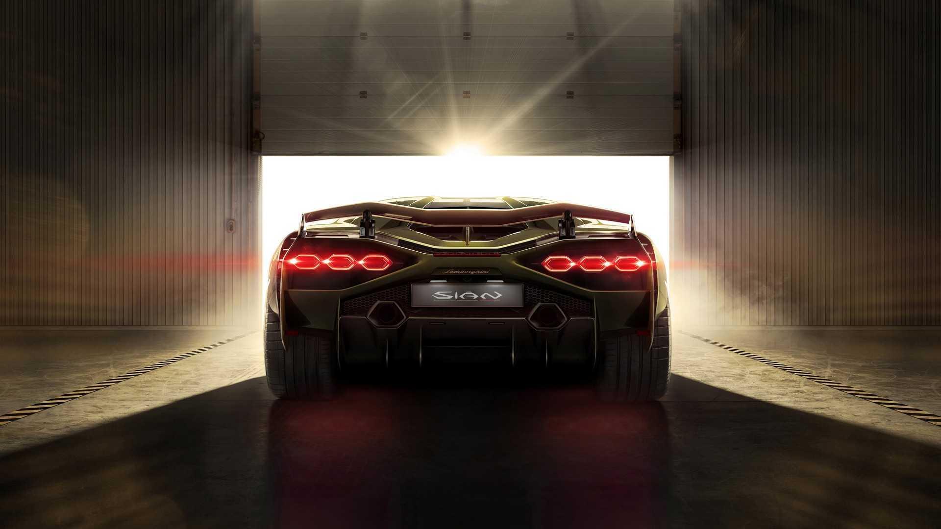 La Lamborghini Sián n'annonce pas le style de la future Aventador