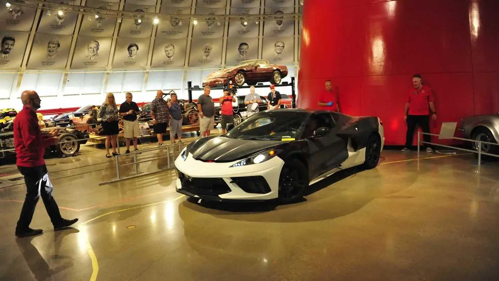 National Corvette Museum >> Chevrolet Corvette C8 Prototype At The National Corvette