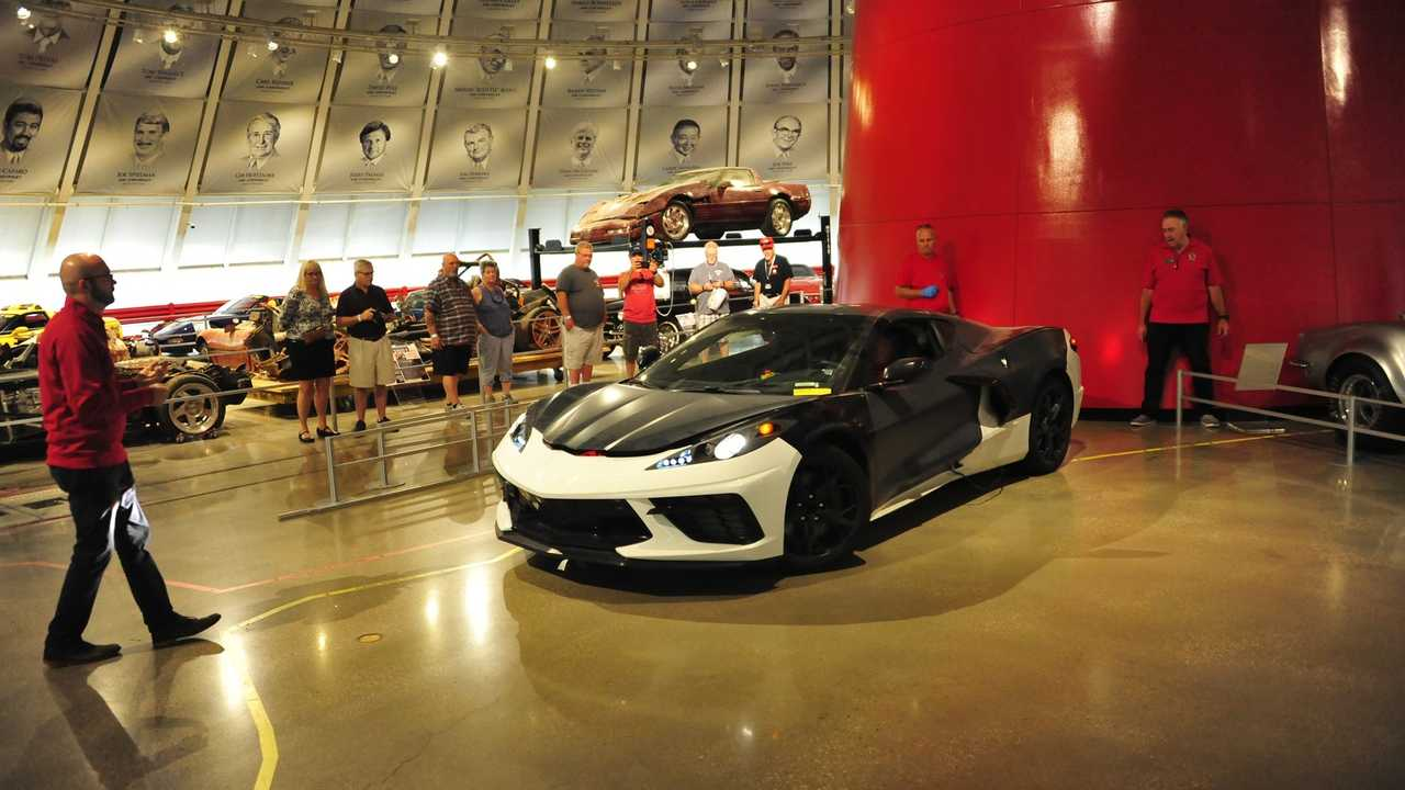 National Corvette Museum >> Chevrolet Corvette C8 Prototype At The National Corvette