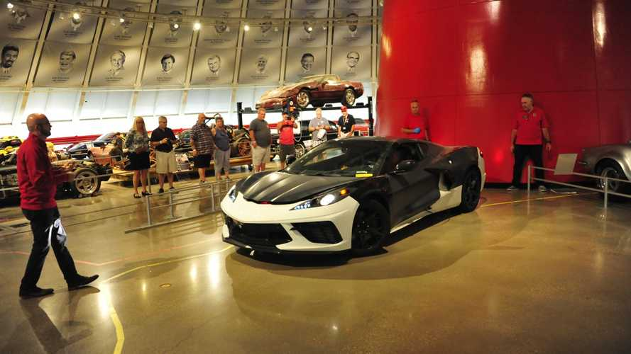 Chevrolet Corvette C8 prototype at the National Corvette Museum