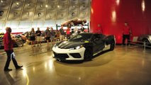 Chevrolet Corvette C8 prototype at the National Corvette Museum