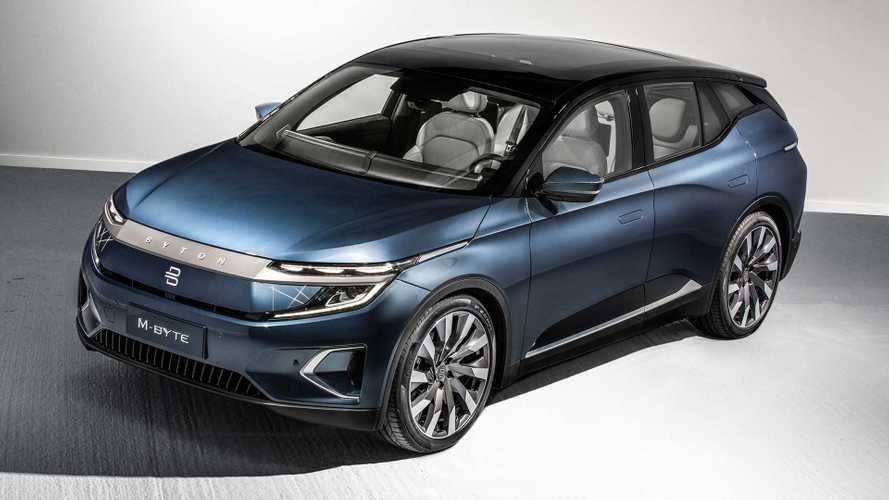 Byton M-Byte 2020: el SUV eléctrico chino con pantalla de 48 pulgadas