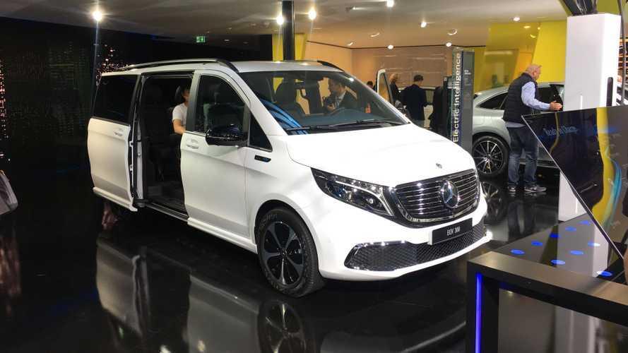 Az EQV lesz a Mercedes első teljesen elektromos egyterűje