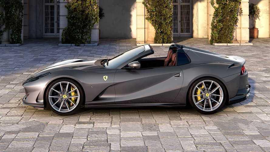 Ferrari 812 GTS, dopo 50 anni ritorna il V12 a cielo aperto