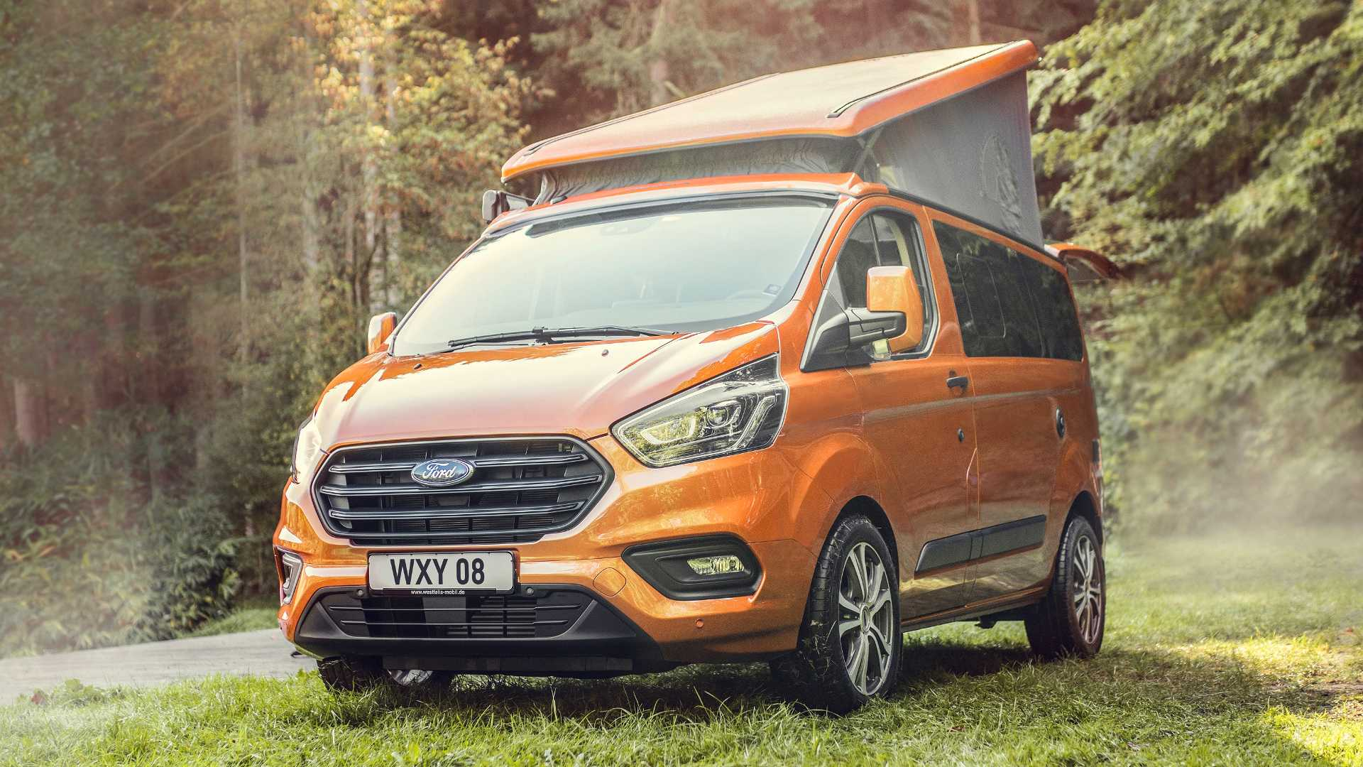 56 000 Ford Transit Custom Nugget Goes On Sale In The Uk