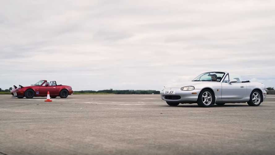 Mazda MX-5 Drag Race: Naturally Aspirated Or Supercharged?