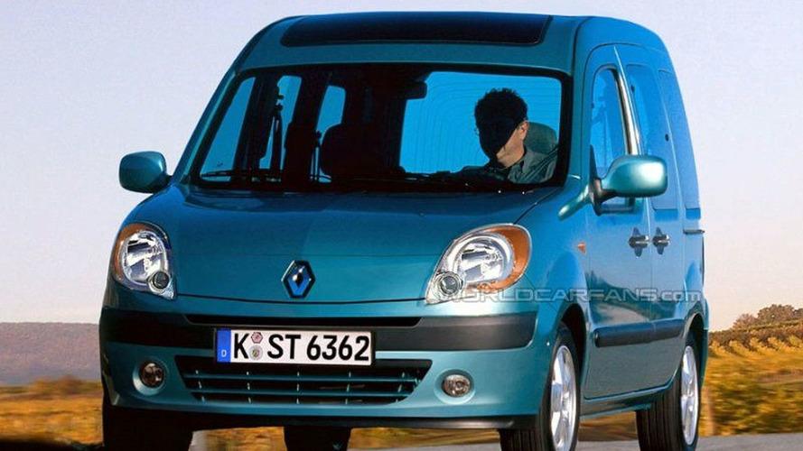 SPY PHOTOS: New Renault Kangoo