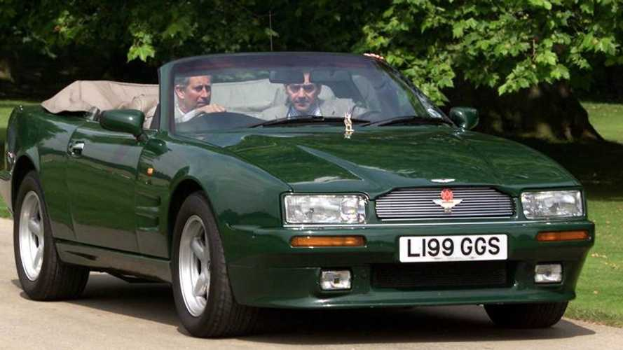 Aston Martin Virage Volante принца Чарльза