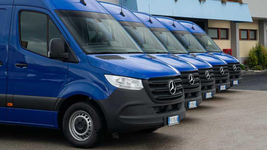 Sessanta Mercedes-Benz Sprinter alla Salerno Trasporti
