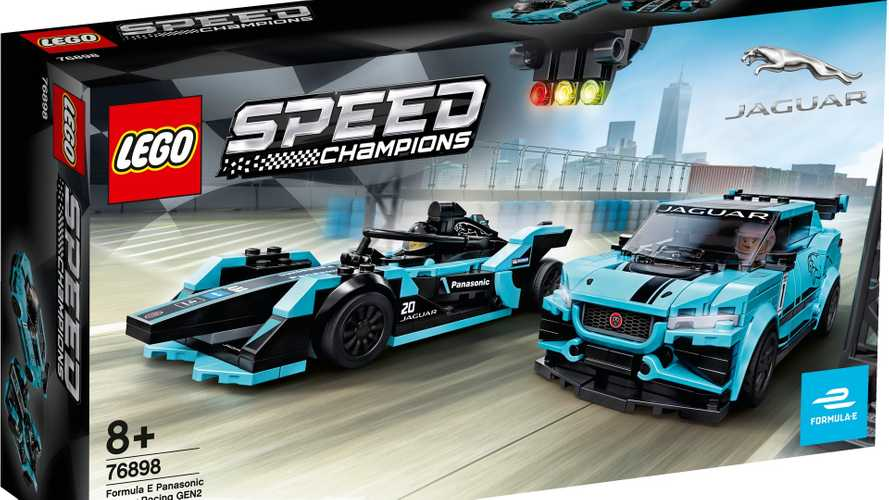 Lego Speed Champions reçoit un pack Jaguar Racing