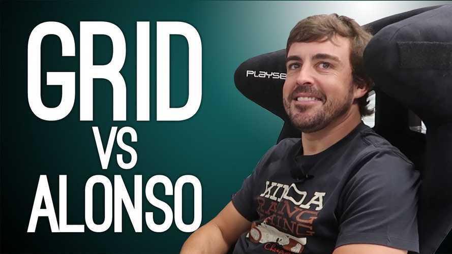 Így játszik Fernando Alonso a saját F1-es világbajnok autójával a GRID-ben (videó)