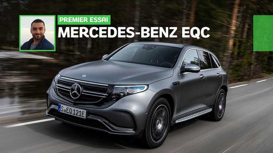 Essai Mercedes-Benz EQC (2019) - Tout pour plaire