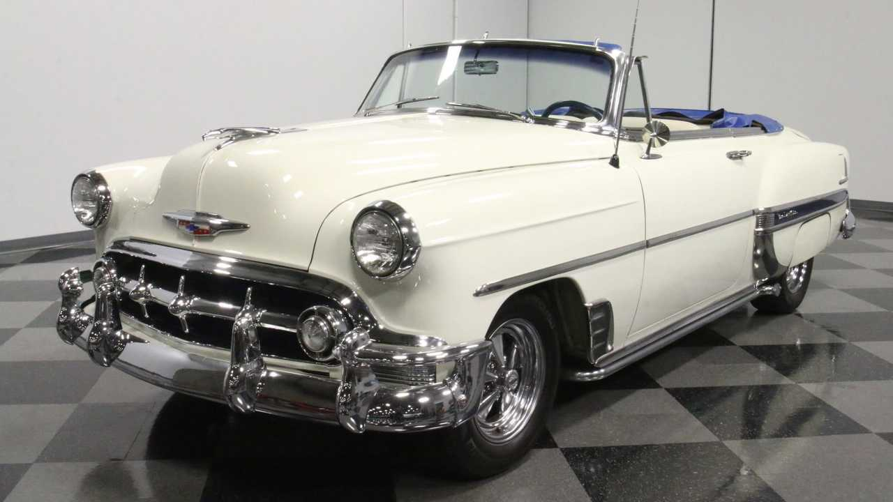 1958 Chevy Bel Air Convertible Will Cure The Blues