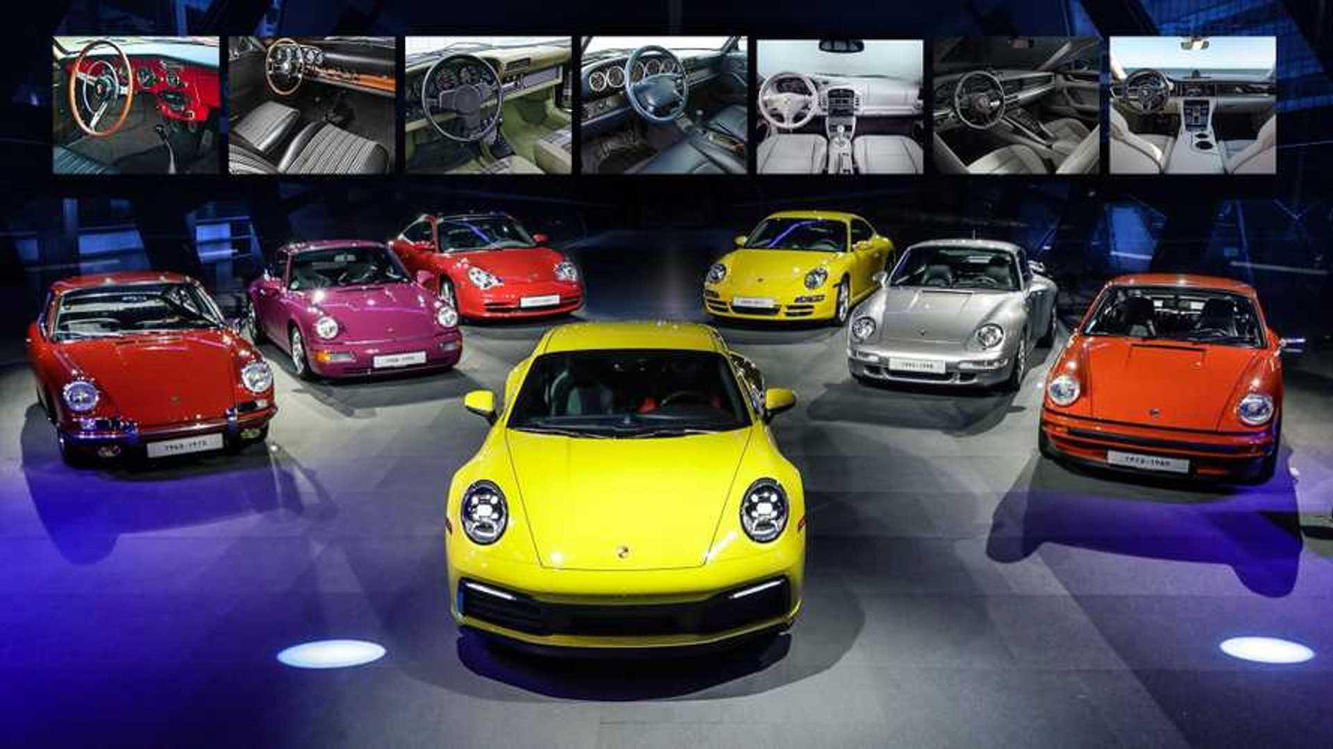 Porsche, l'evoluzione della plancia attraverso 50 anni e 7 modelli