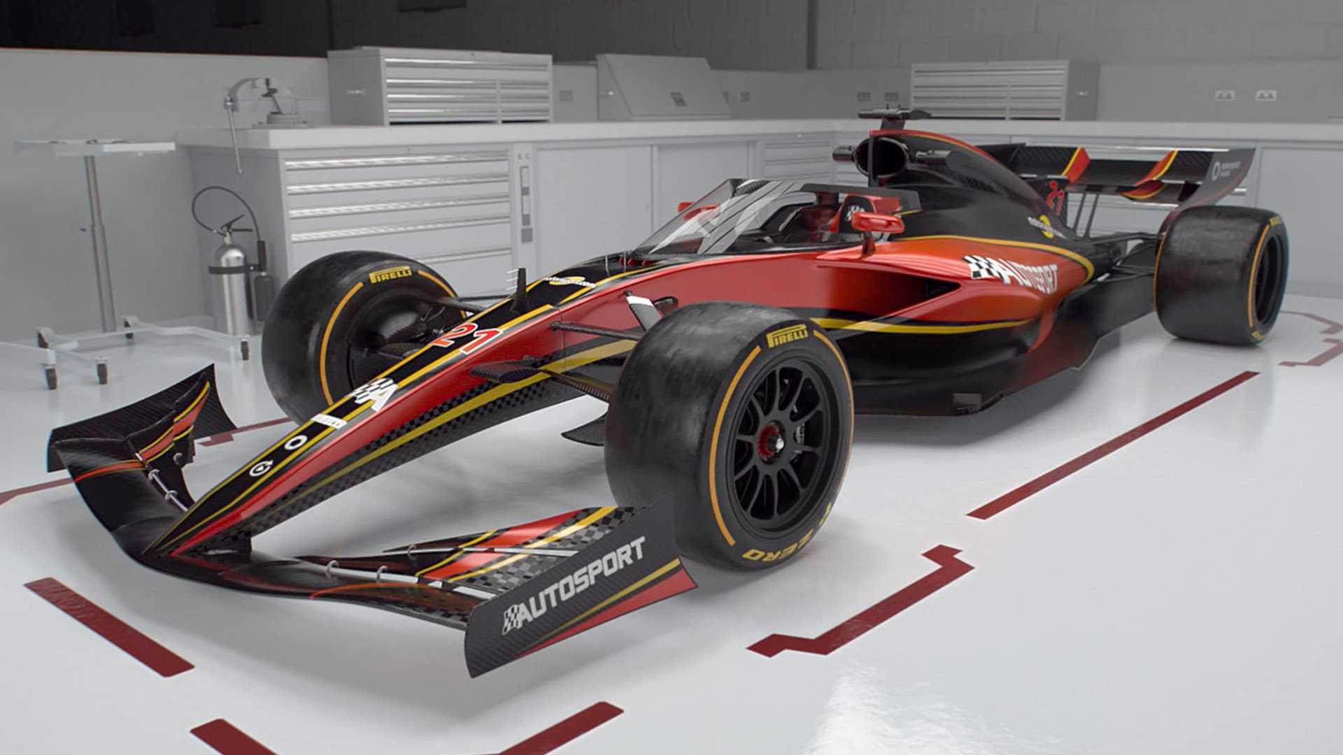 più amato cc143 694e4 Revealed: Our vision for 2021's F1 racers
