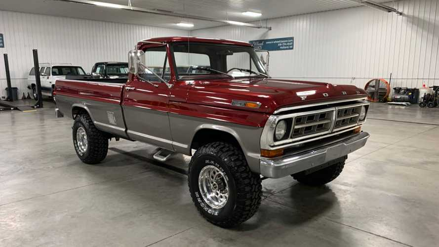 Rope This 1971 Ford F-250 Highboy