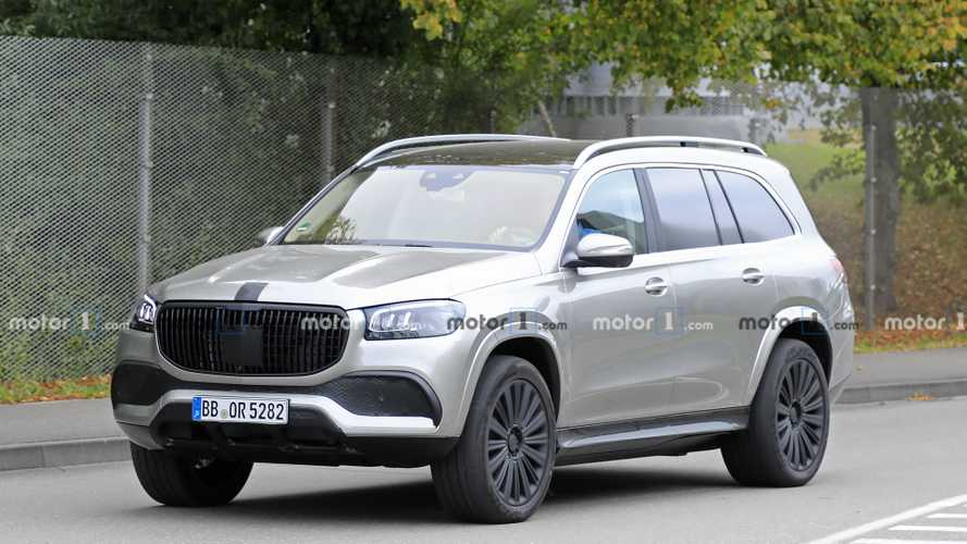 Mercedes-Maybach GLS Spied Without Any Camo, Reveal Could Be Nigh