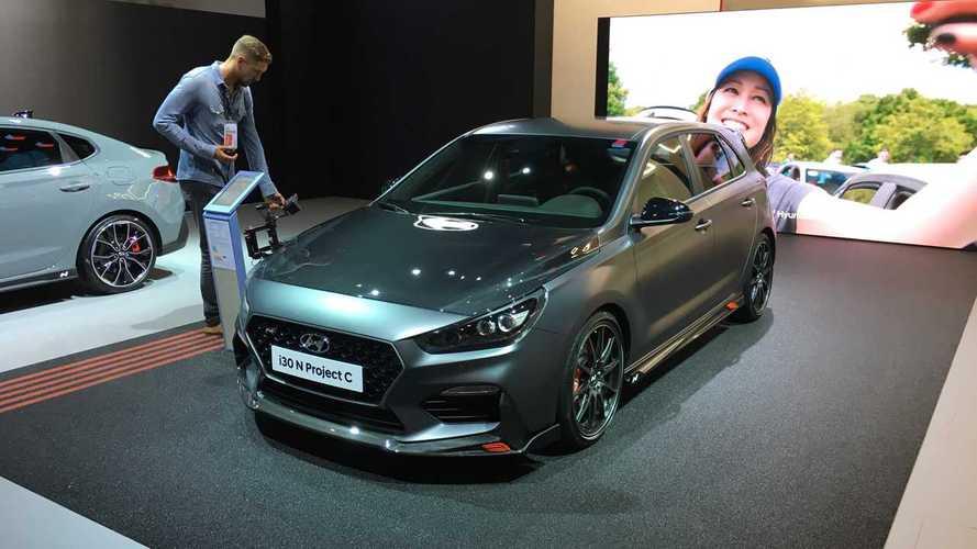 Hyundai i30 N Project C: живые фото