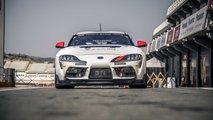 Toyota Supra GT4 race car