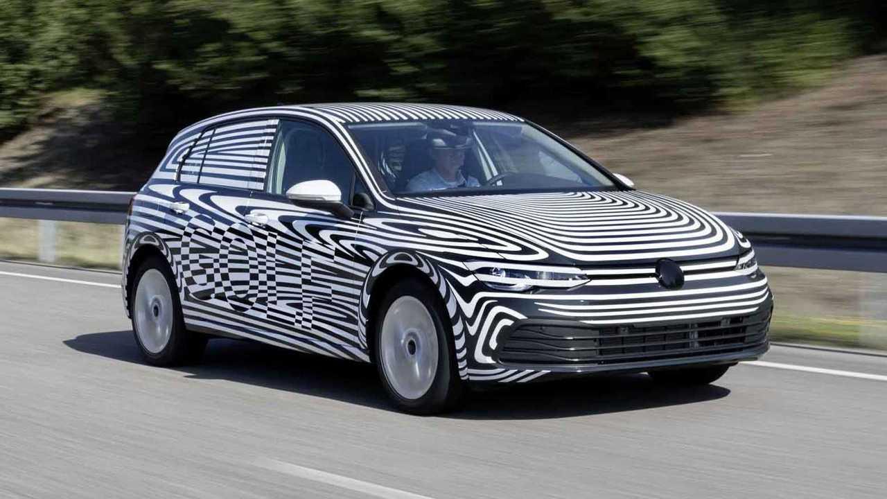 2020 Volkswagen Golf 8 teaser