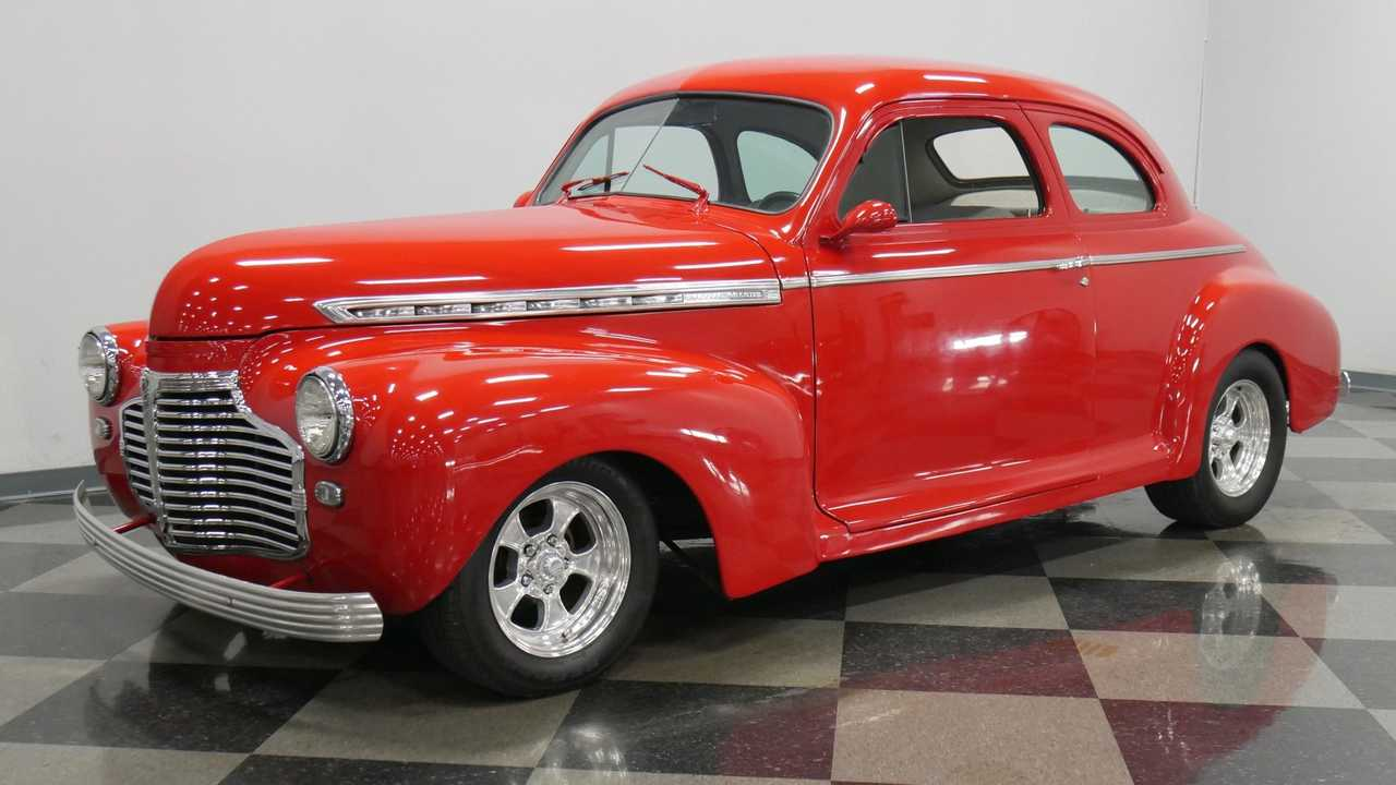 Vivid Red 1941 Chevrolet Super Deluxe Is A Joy To Drive
