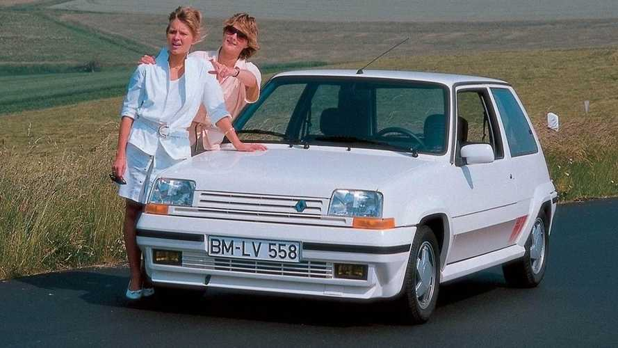 Renault Supercinco GT Turbo, el sucesor del mítico 5 Turbo