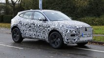 jaguar e pace facelift spied