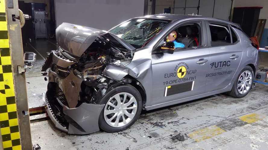 L'Opel Corsa obtient 4 étoiles au crash-test, comme la Peugeot 208