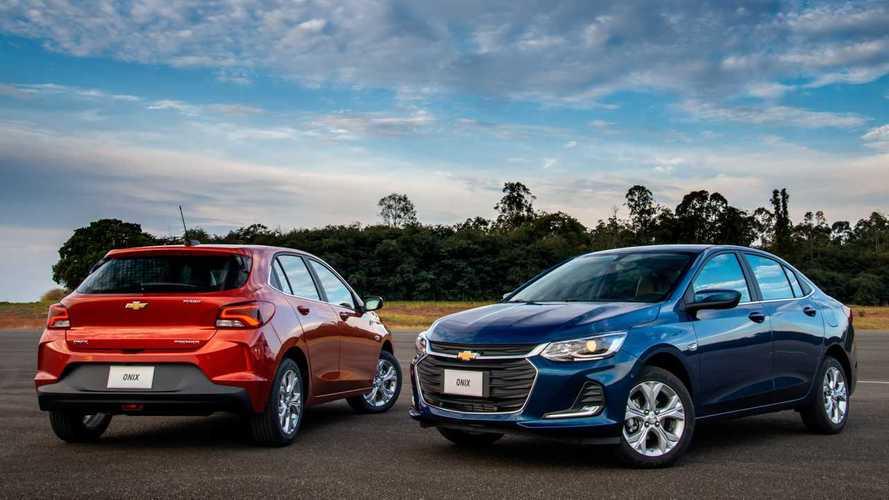 Chevrolet Onix e Onix Plus ganham promoção com 12 parcelas pagas