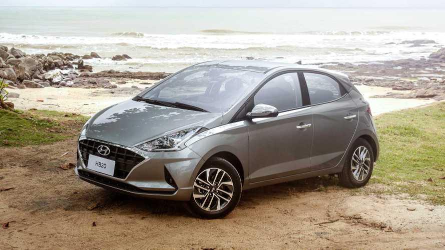 Varejo em janeiro: Hyundai HB20 é vice-líder e Onix Plus sobe ao pódio