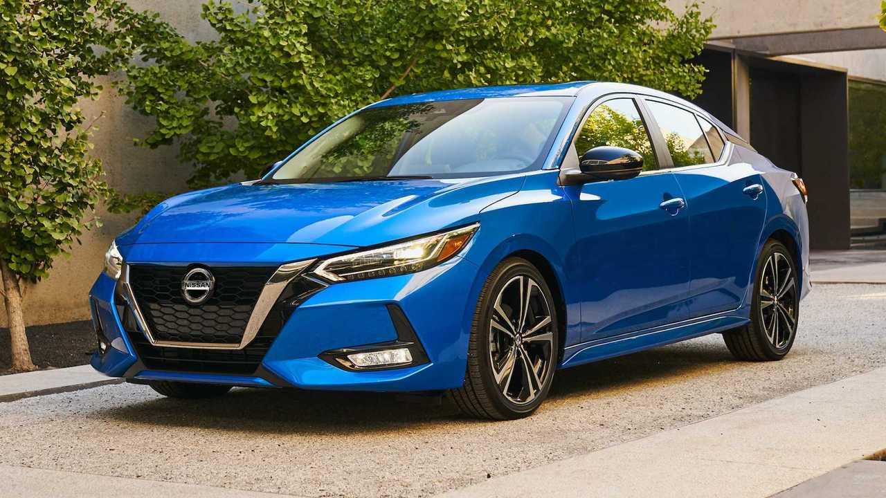 2020 nissan sentra starts at  19 090  top trim costs  21 430