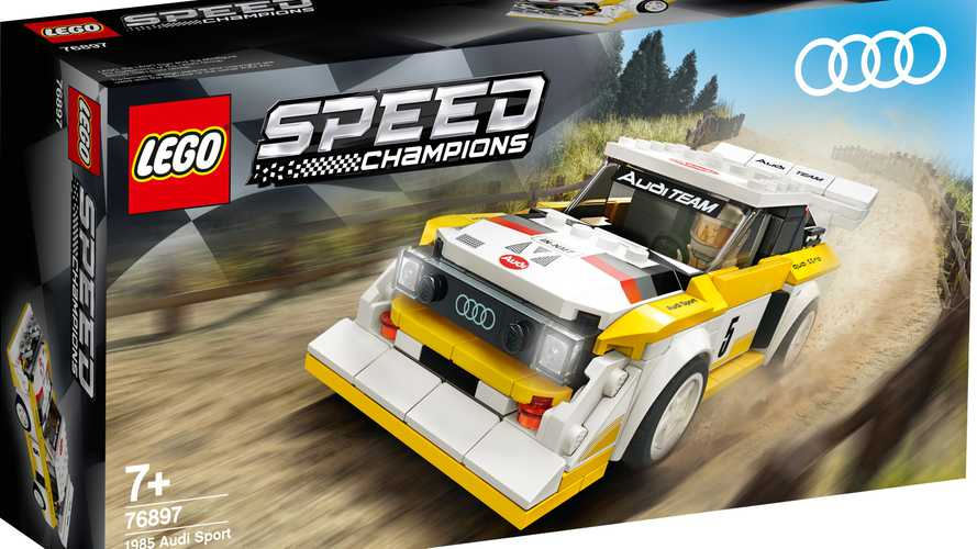 Lego Speed Champions Ferrari F8 Tributo And 1985 Audi Sport Quattro S1