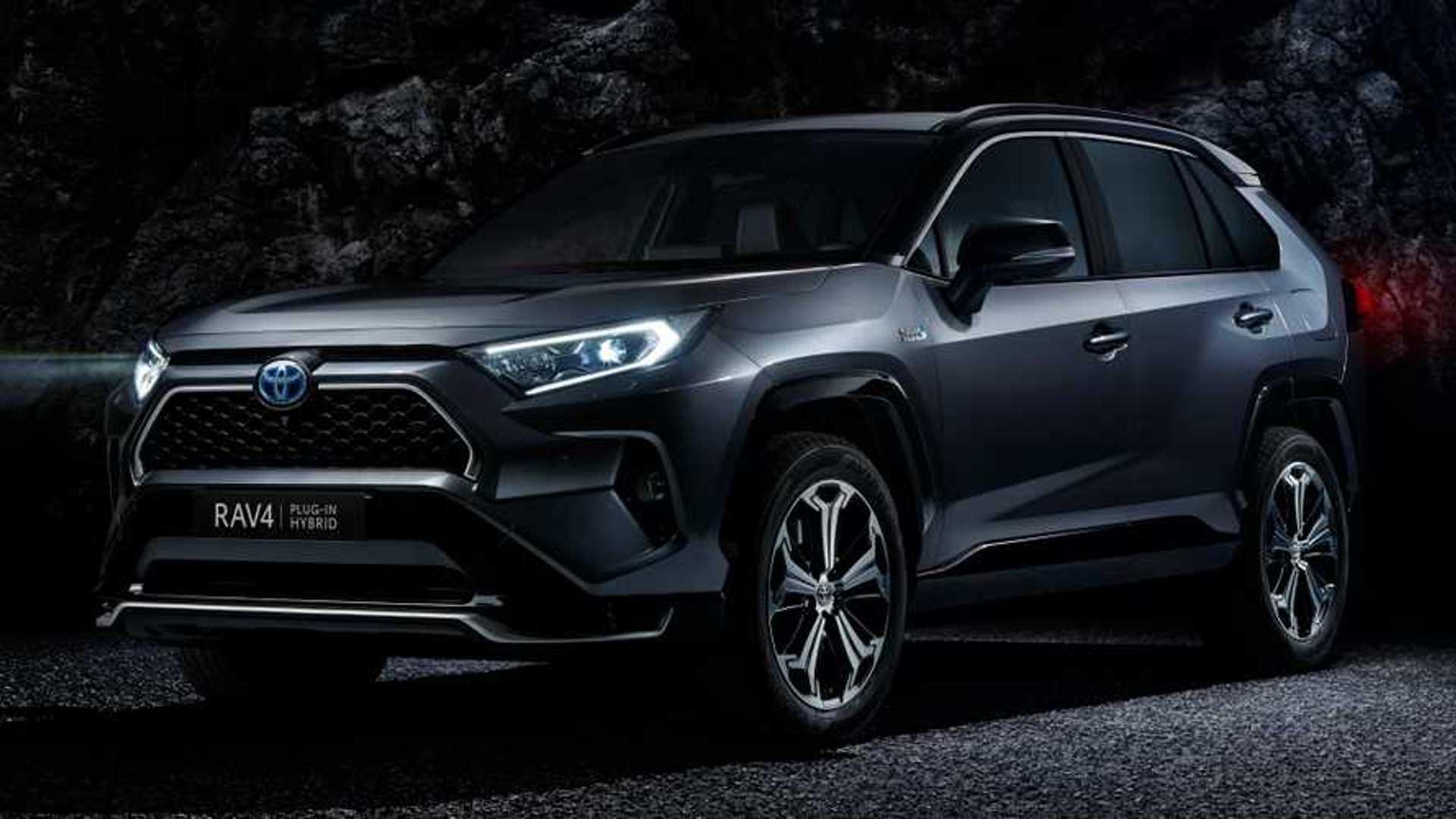 2020 Toyota Rav4 Hybrid Wallpaper