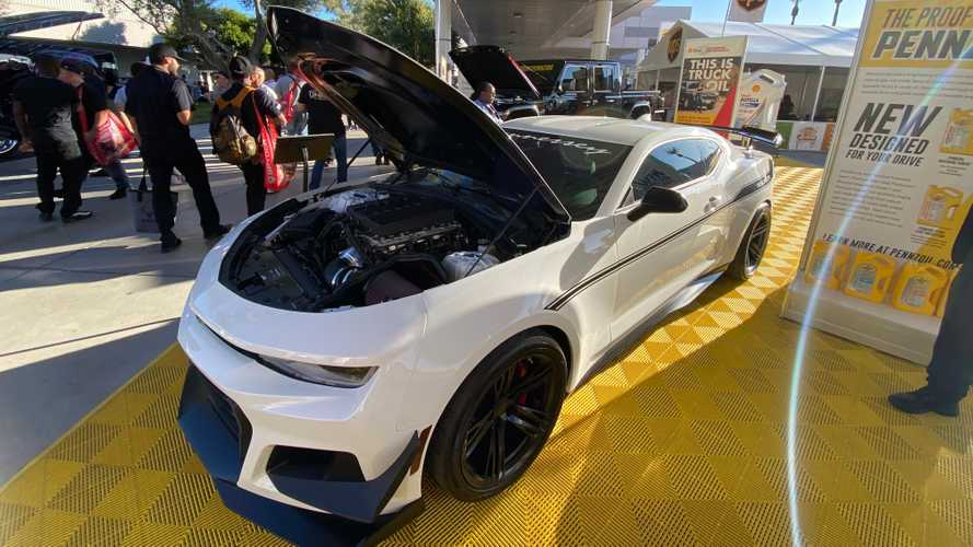 Hennessey Resurrection Camaro ZL1 1LE Debuts At SEMA With 1,200 HP