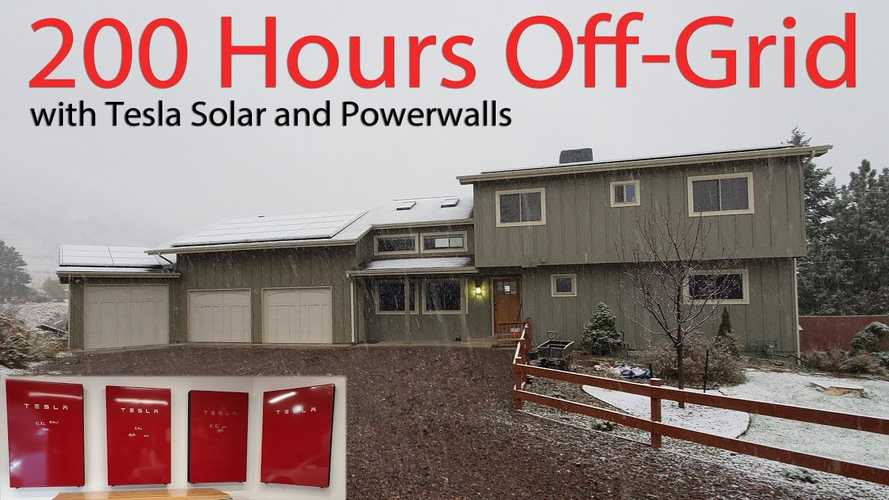 How Long Can Powerwall And Tesla Solar Keep You Going Off-Grid?