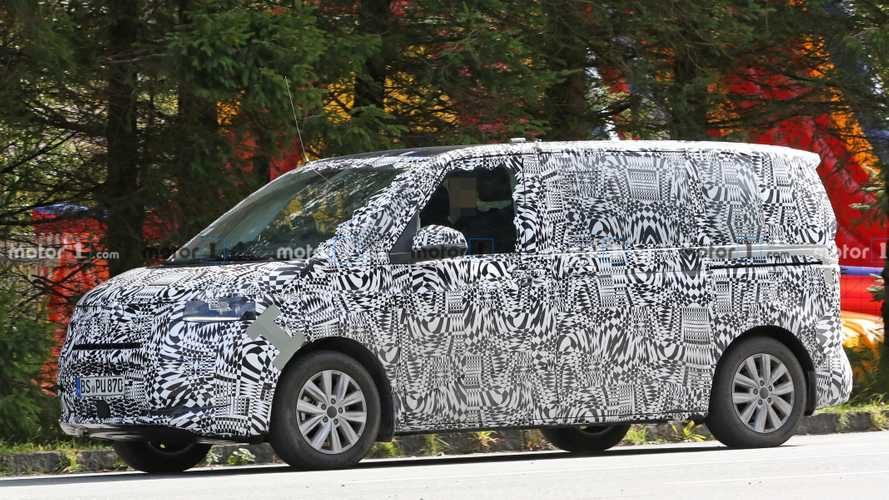 Volkswagen T7 ecco le prime foto spia