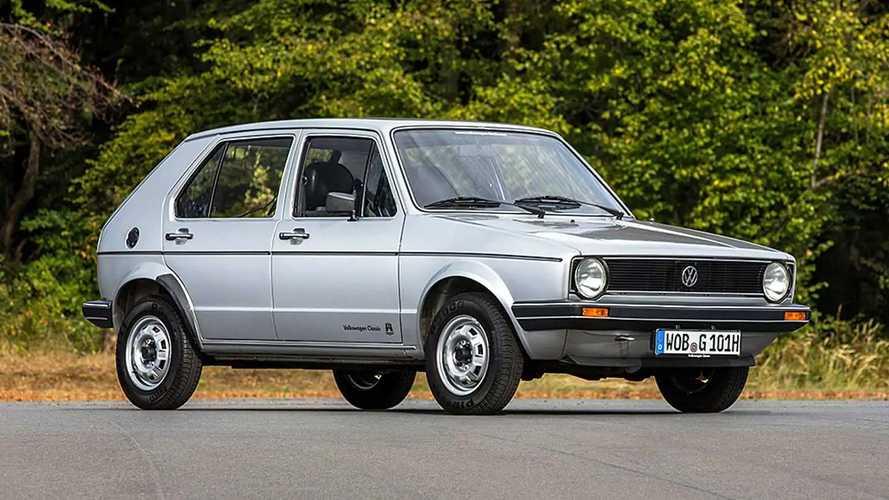 Volkswagen Golf il prezzo dell'usato per ogni generazione