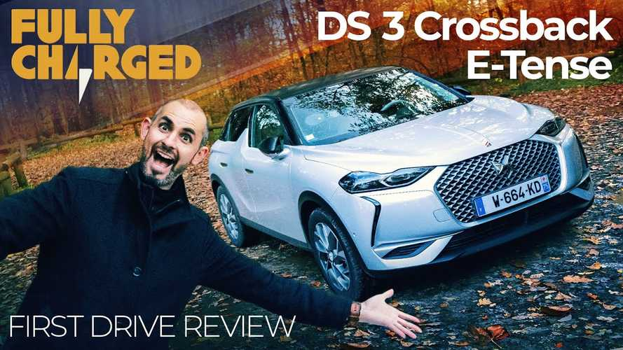 DS 3 Crossback E-Tense Featured By Fully Charged: Video