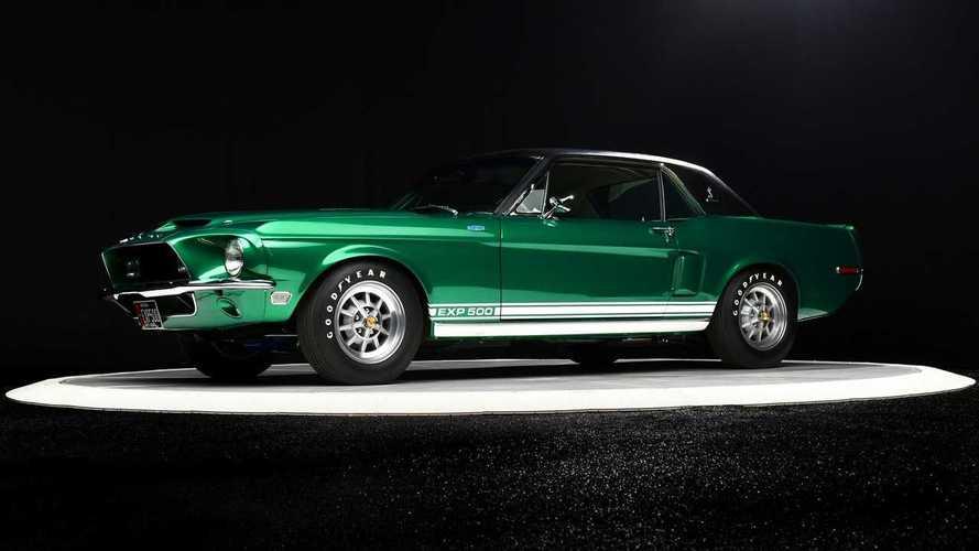 Újjávarázsolták az 1968-as Shelby GT500 Green Hornet prototípusát