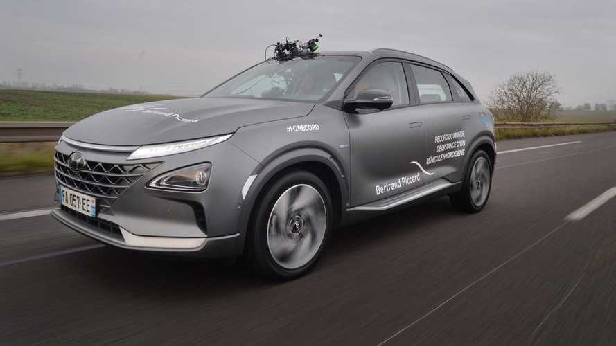 Hyundai Sets New Distance Record With The Nexo
