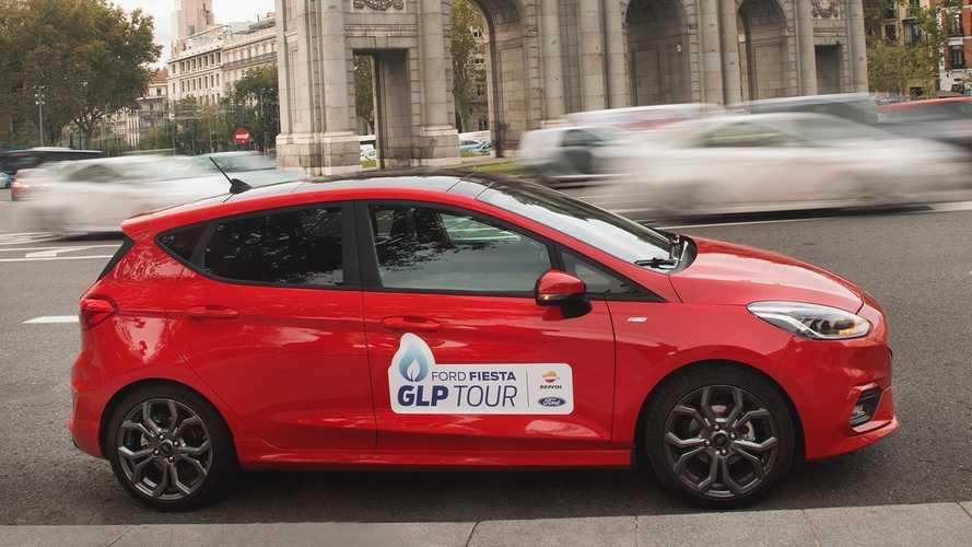 El Ford Fiesta de gas ha recorrido 3.823 kilómetros con 231 euros