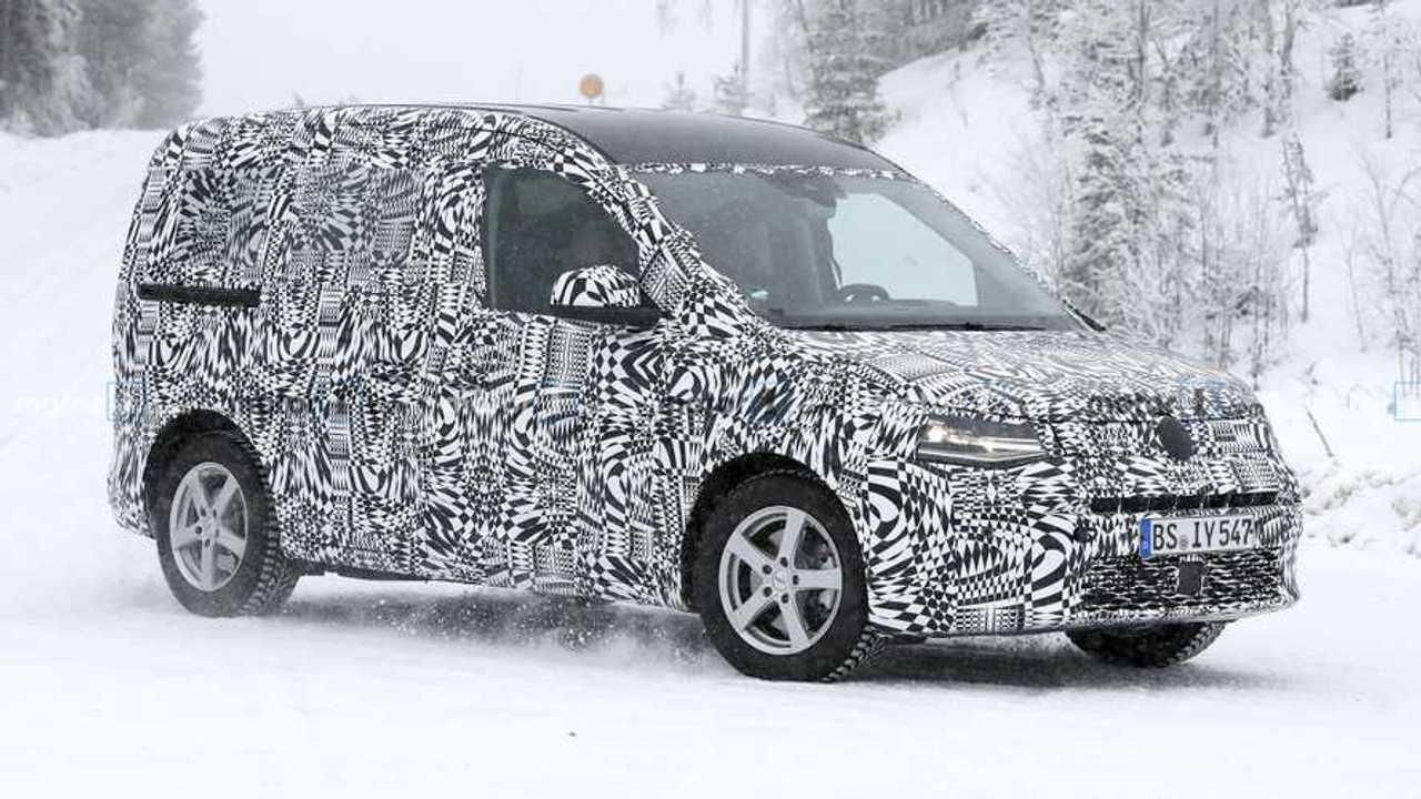 New VW Caddy spy photo