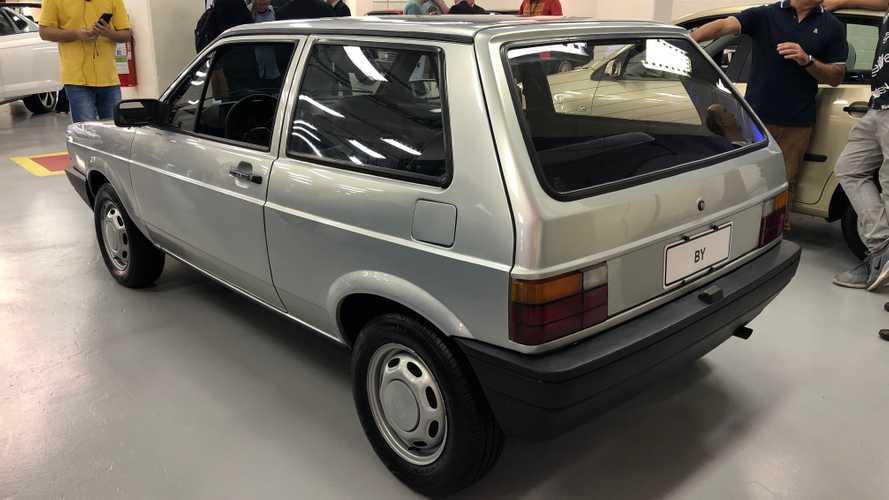 VW BY (sub-Gol) dos anos 80