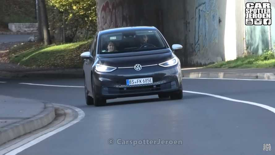VW ID.3 Is Filmed Outside Nürburgring Nordschleife