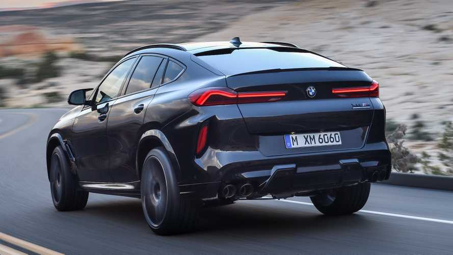BMW X6 M y M Competition 2020