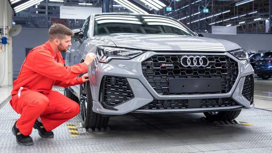 Megkezdődött Győrben az Audi RS Q3 és RS Q3 Sportback sorozatgyártása