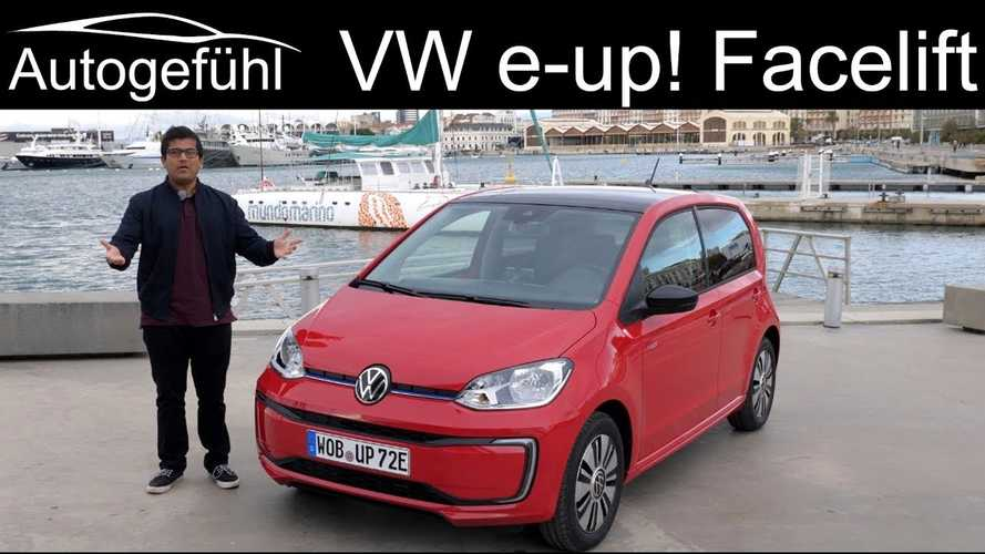 In-Depth Review of Volkswagen e-up! By Autogefühl: Video