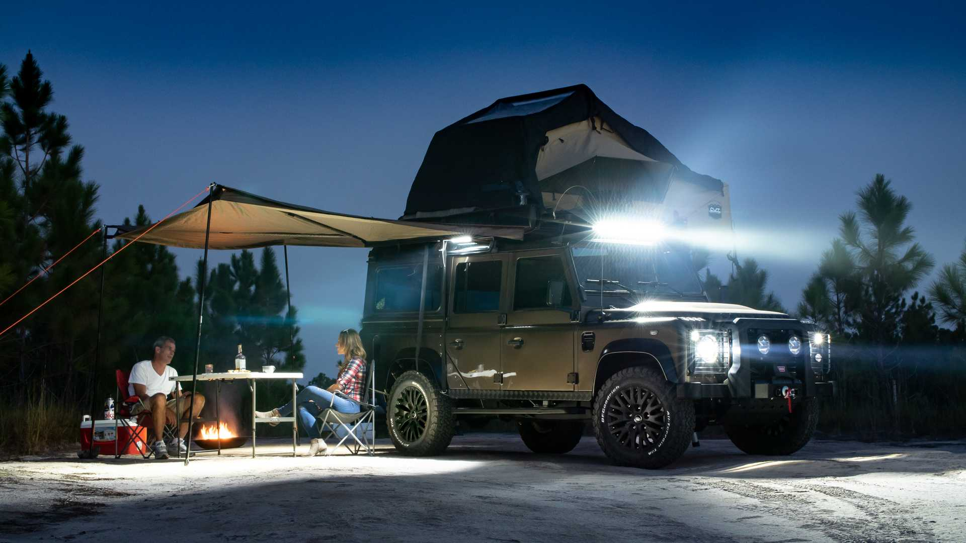 Would You Pay 240k For This Land Rover Defender 110 Overlander Conversion
